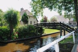 little bridge to a house
